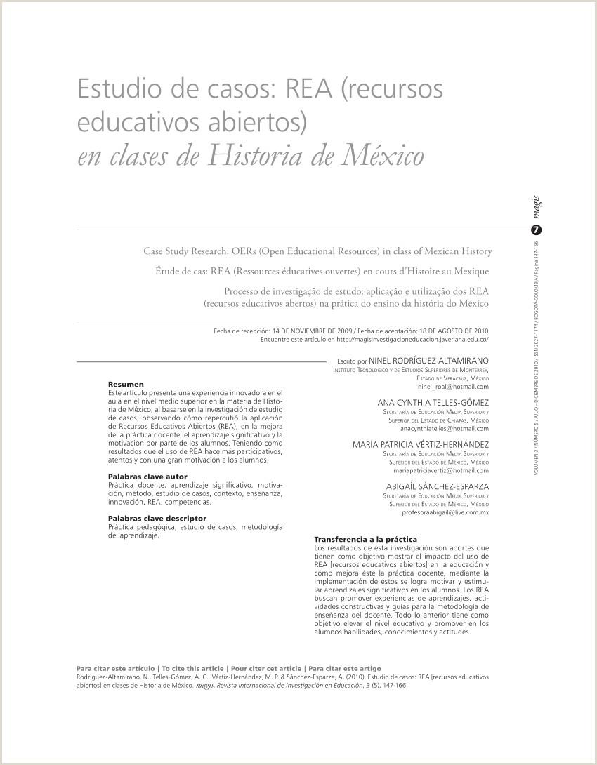 PDF Estudio de casos REA recursos educativos abiertos en
