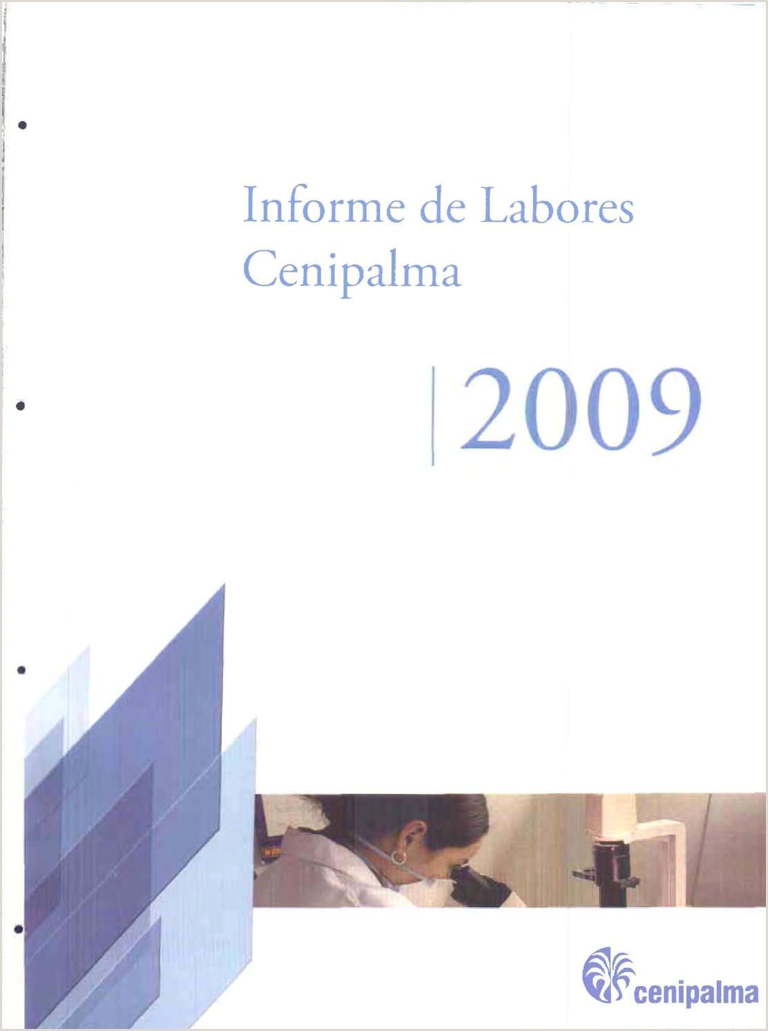 Informe cenipalma2009 by Fedepalma issuu