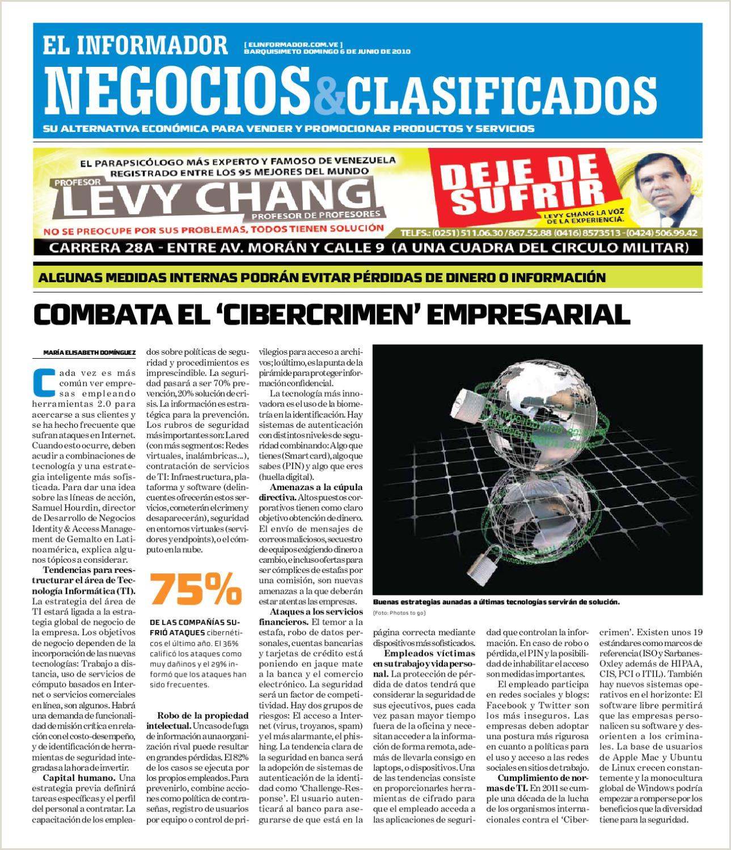 Formato Hoja De Vida Kimberly Negocios Y Clasificados 2010 06 06 by El Informador Diario