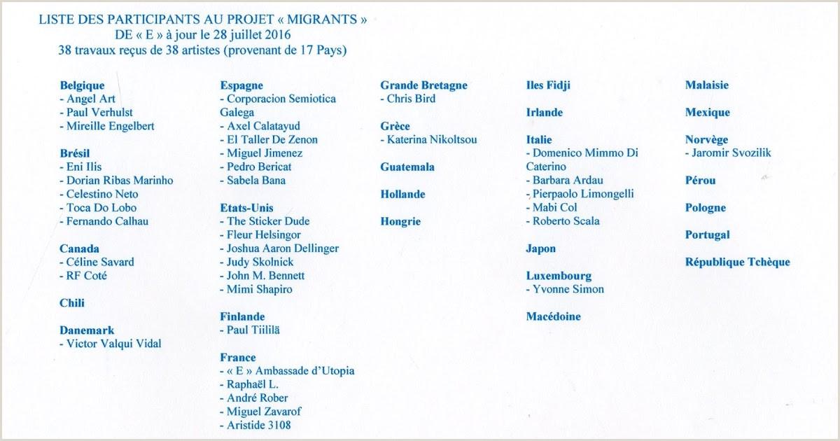 "Formato Hoja De Vida Latex Insomnies Et Art Postal Projet Mail Art ""migrants Mineurs"