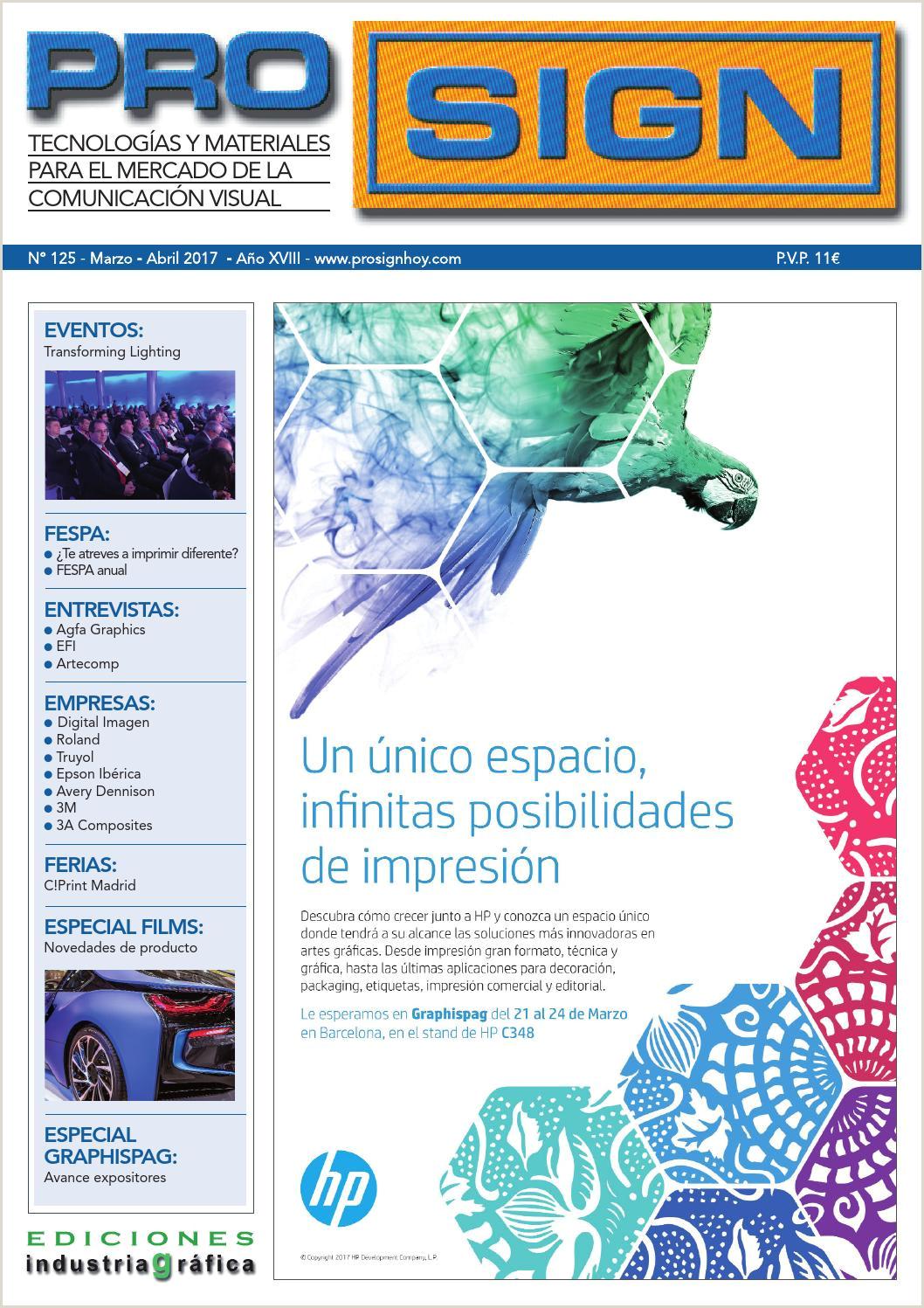 Prosign 125 Marzo Abril 2017 by Ediciones Industria