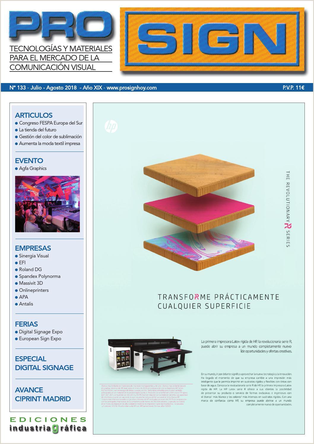 Prosign 133 Julio Agosto 2018 by Ediciones Industria