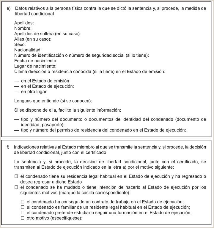 Formato Hoja De Vida Libertad Y orden Boe Documento Boe A 2014