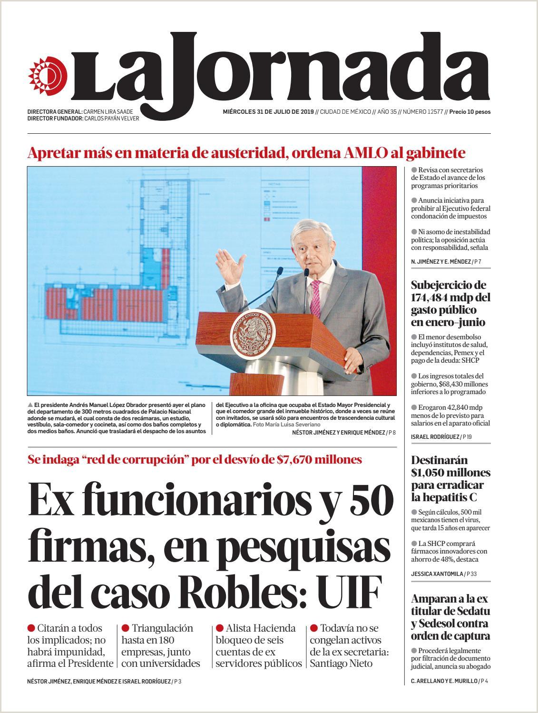 Formato Hoja De Vida Libertad Y orden La Jornada 07 31 2019 by La Jornada issuu