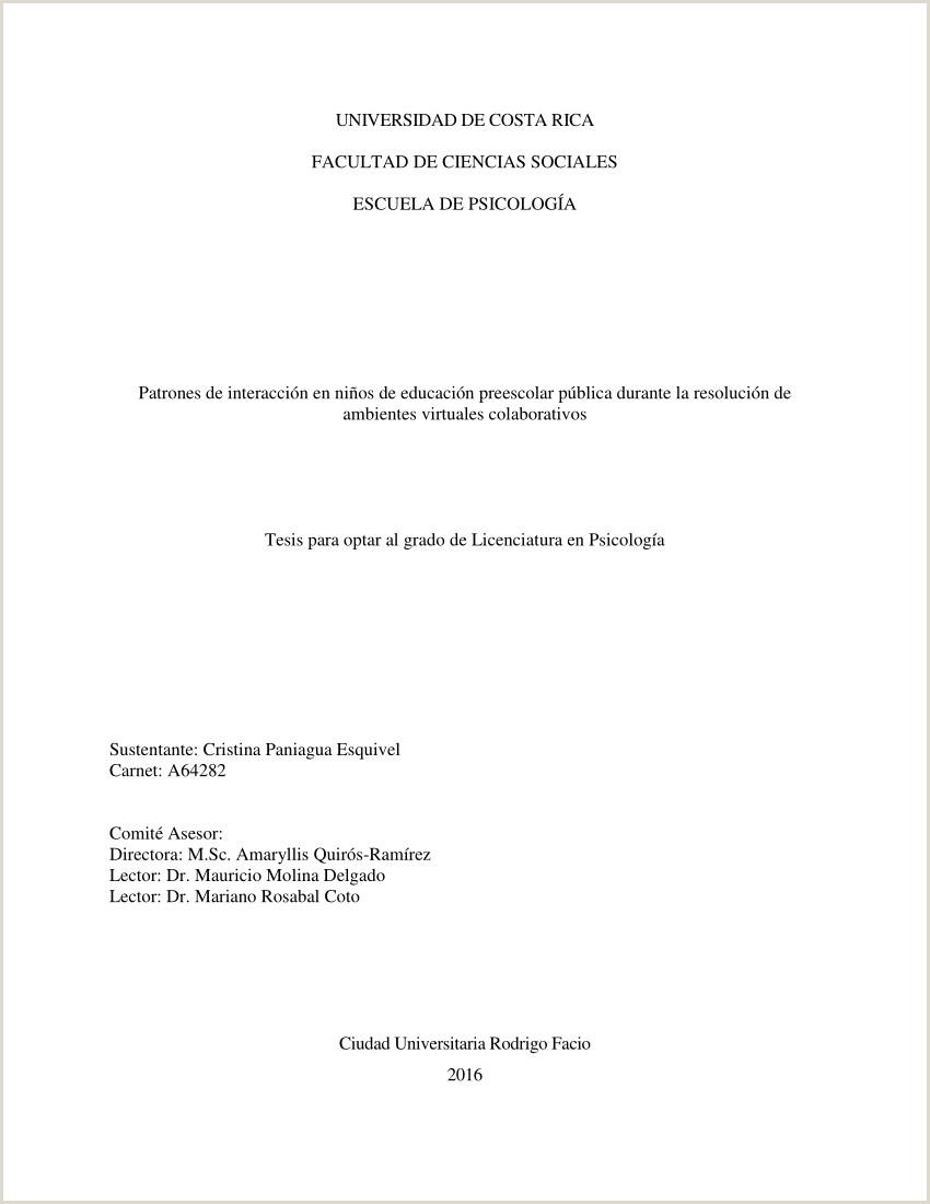 PDF Patrones de interacci³n en ni±os de educaci³n