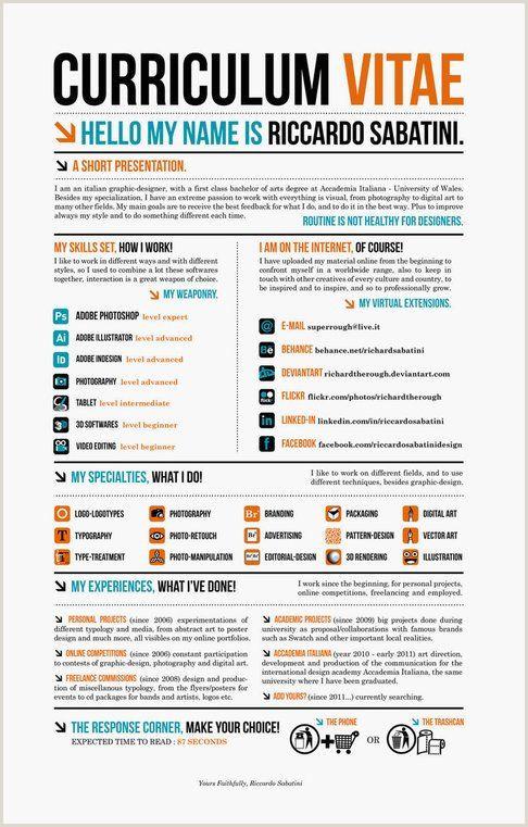 Formato Hoja De Vida Linkedin 25 Curriculums Vitae Tan Creativos Que Casi Te Garantizarán