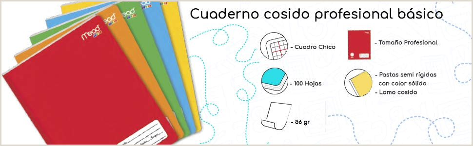 Mead P3363 Cuaderno Básico Profesional 100 hojas 15 Piezas