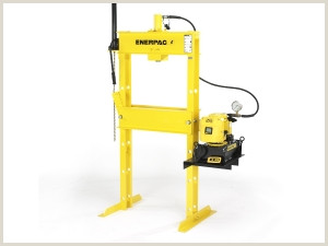 IPE2505 25 tonelada Prensas bastidor en H con válvula de
