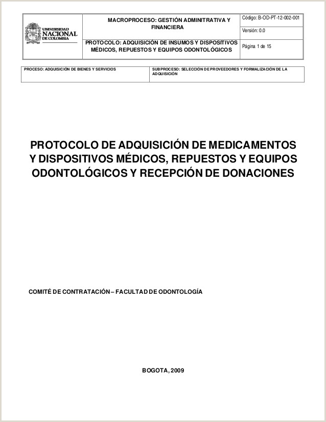 Protocolo aquisicion medicamentos equipos 1