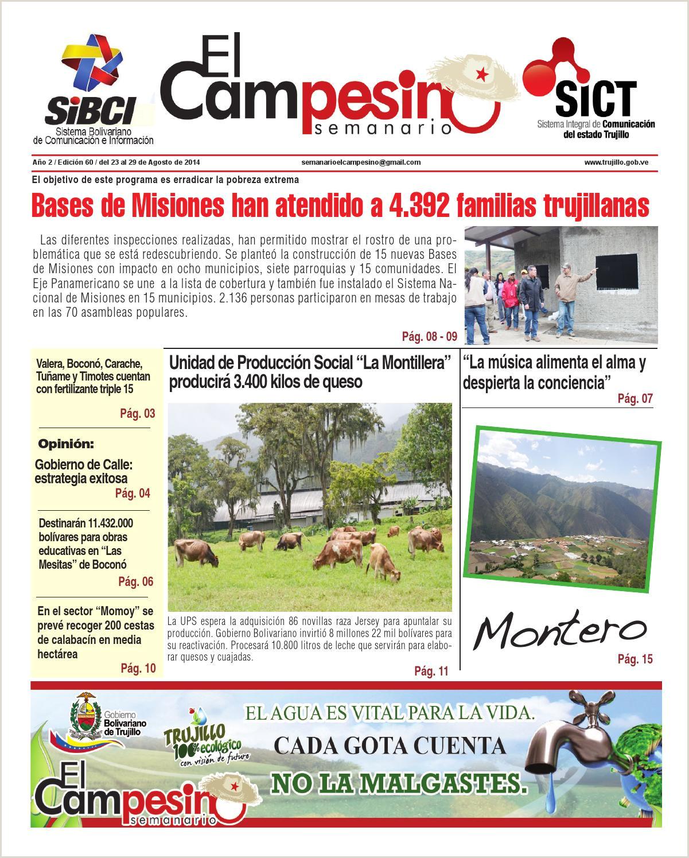 Edici³n 60 by Agencia Andina Ediciones Semanario El