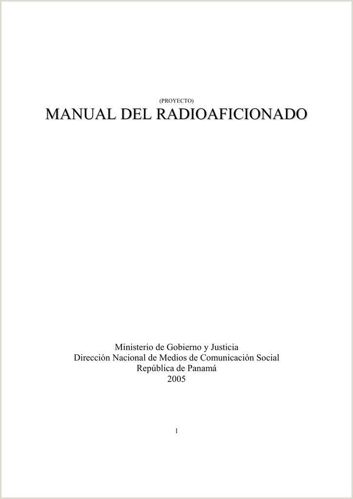 manual del radioaficionado