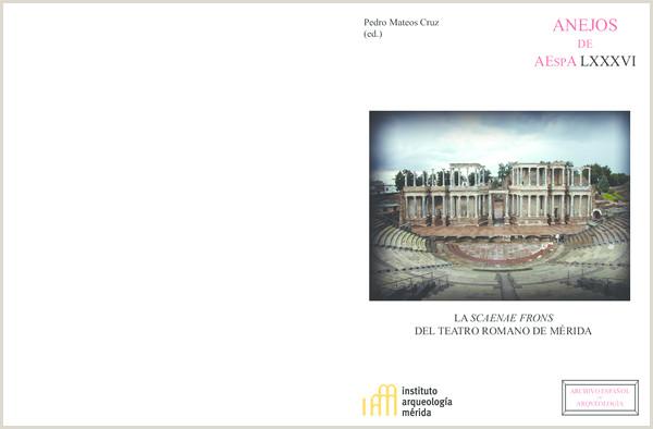 PDF La Scaenae Frons del Teatro Rev 15 Noviembre pdf
