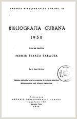 Anuario bibliogrƒÆ''¡fico cubano