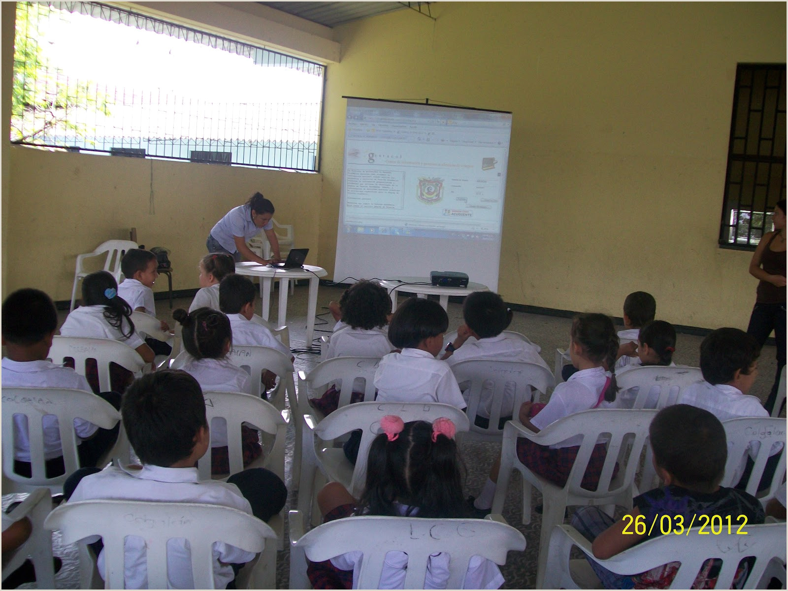 CLASE 2012 EVIDENCIAS 2012