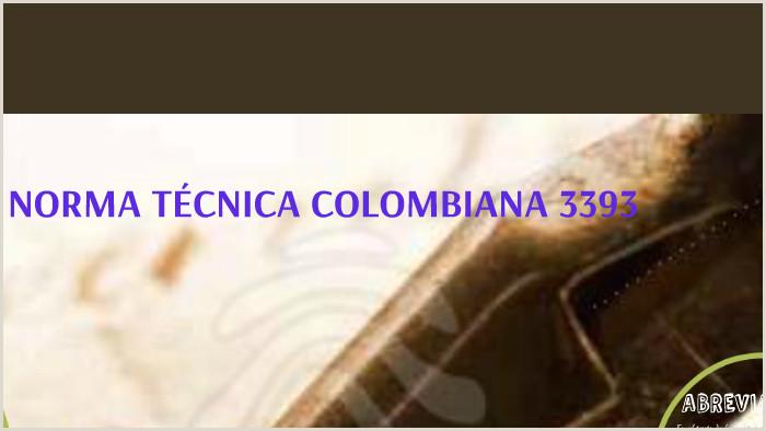 Formato Hoja De Vida normas Icontec 4228 Ejemplo Carta Ercial Ntc 3393