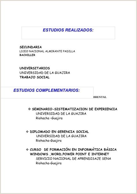Formato Hoja De Vida Normas Icontec 4228 Hoja De Vida Malvina Barbosa $ Tokoonlineindonesia