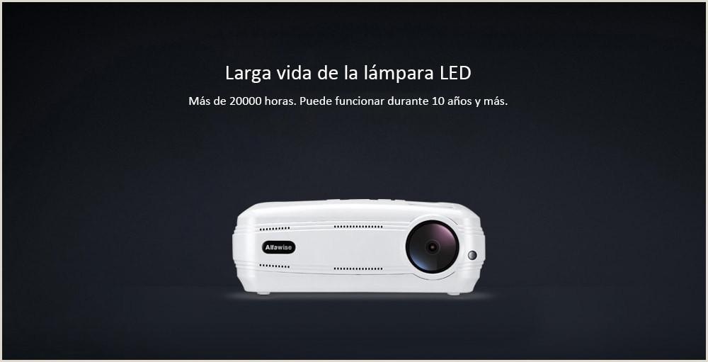 X Proyector Inteligente 3200 Lºmenes HD 1080P Soporte 4K