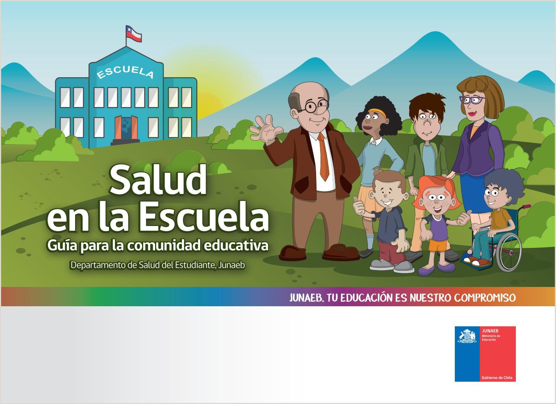 Manual de Salud en la Escuela by Junaeb Junta Nacional de