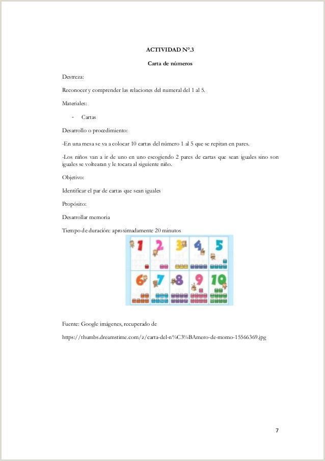 """Formato Hoja De Vida Para Niños Programa De Juegos De Concentraci""""n En El Desarrollo De Las"""