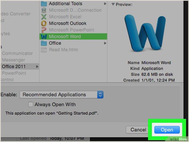 Formato Hoja De Vida Pdf 3 formas De Pasar A Word Un Documento Escaneado Wikihow