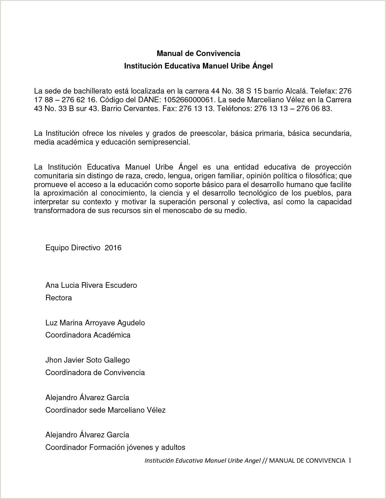 Formato Hoja De Vida Rama Judicial Jueces Calaméo Manual De Convivencia Mua 2017