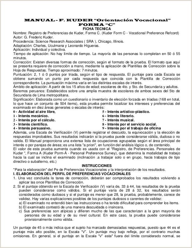 Formato Hoja De Vida Servicios Generales Kupdf Manual Test Kuder