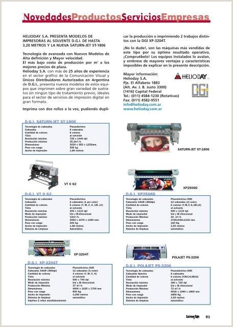 Novedades Productos Servicios Empresas Revista Letreros