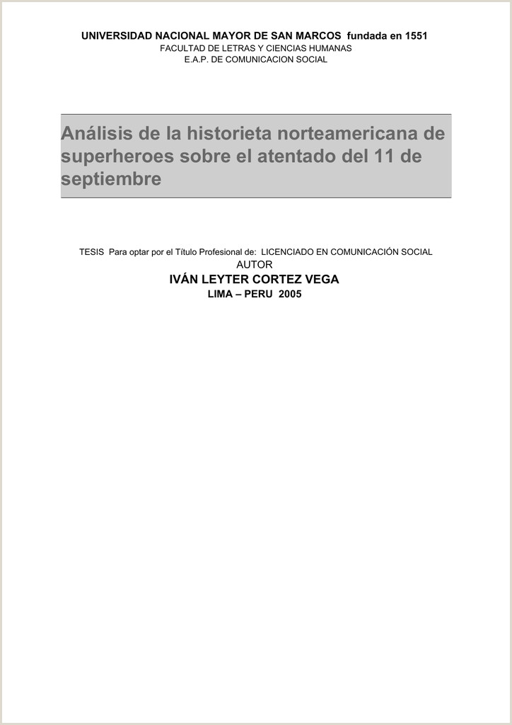 Formato Hoja De Vida Unal Icon Cybertesis Unmsm Universidad Nacional Mayor De San