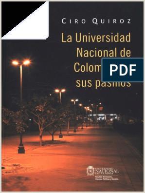 Formato Hoja De Vida Unal La Universidad Nacional De Colombia En Sus Pasillos