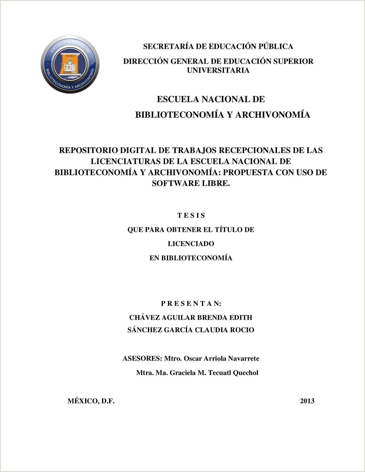 Formato Hoja De Vida Universidad Javeriana Calaméo Chavez Y Sanchez Tesis 2013