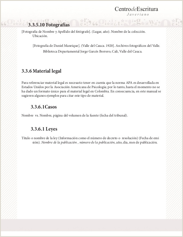 Manual apa 6 ed javeriana