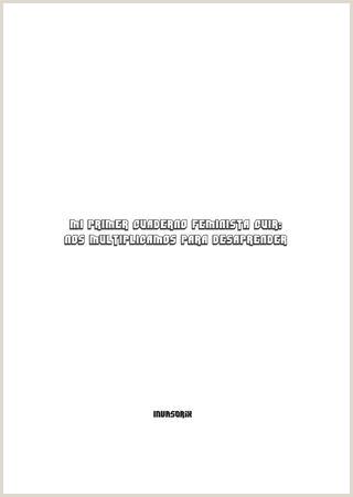 Formato Unico De Hoja De Vida Actualizada En Word Mi Primer Cuaderno Feminista Cuir by Invasorix issuu