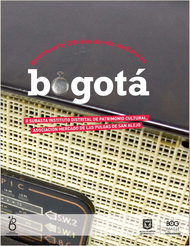 200 a±os de vida cotidiana en Bogotá 2ª Subasta by