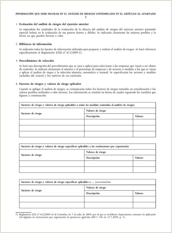 Formato Unico De Hoja De Vida Con Referencias Personales Reglamento De Ejecuci³n Ue Nº 908 2014 De La isi³n De