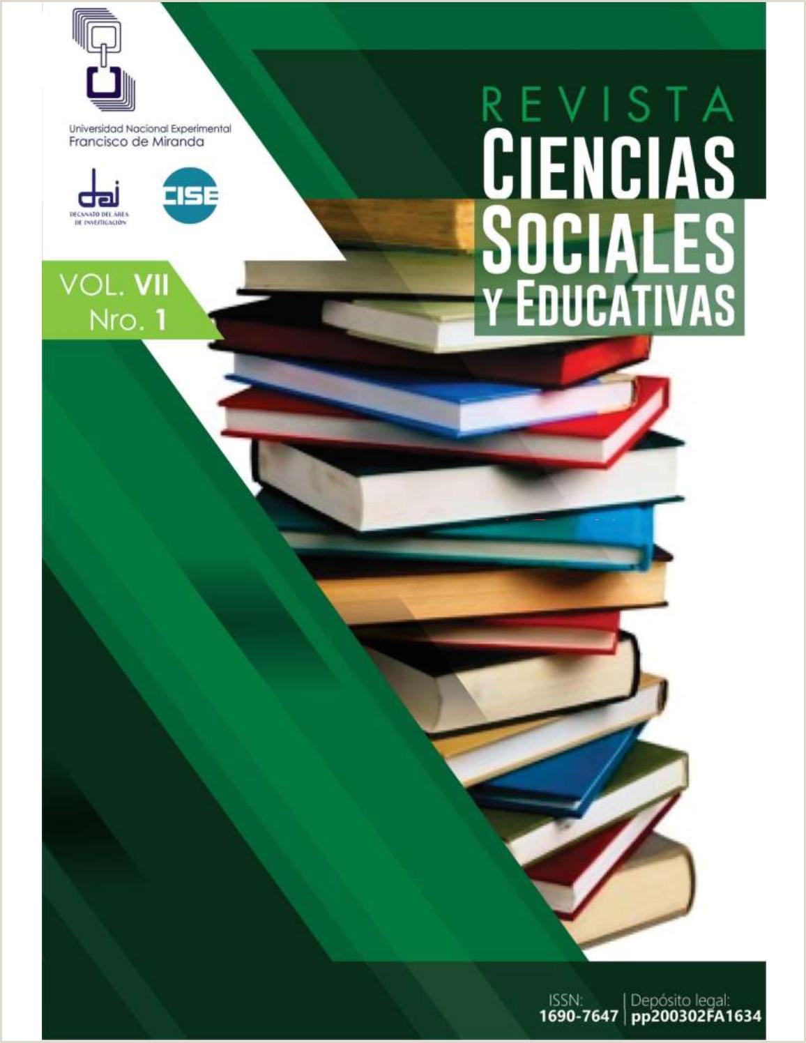 Formato Unico De Hoja De Vida En Word Gratis Rcse Vol Vii Nro 1 by Revista Ciencias sociales Y