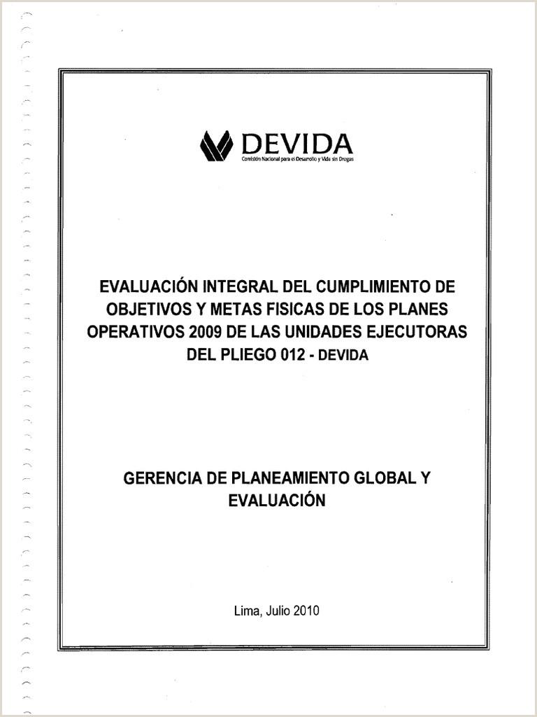 Formato Unico De Hoja De Vida Idu Evaluacion Poi 2009 Iisem