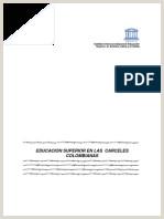 Formato Unico De Hoja De Vida Inpec Uariv Informe Congreso A±o 2012