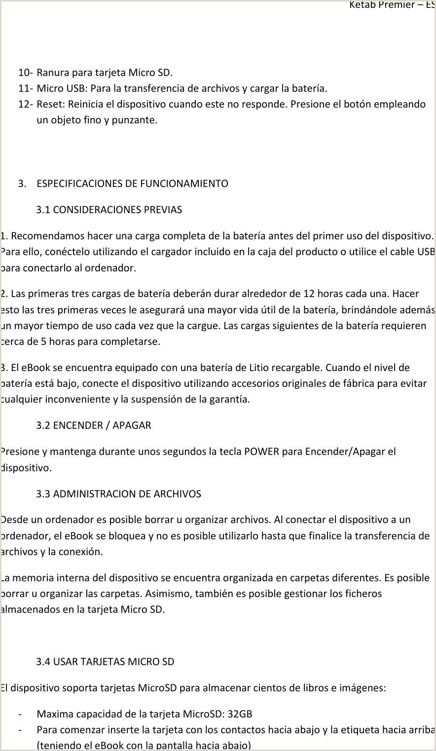 Formato Unico De Hoja De Vida Instrucciones I Joy Ketab Premier Operating Instructions
