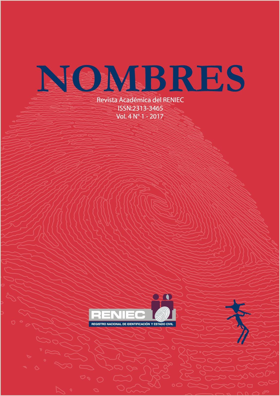 Formato Unico De Hoja De Vida Jne 2018 Calaméo Revista Académica Nombres Iv