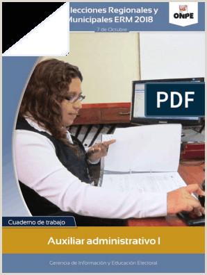 Cuaderno Del Auxiliar Administrativo 2018 baja