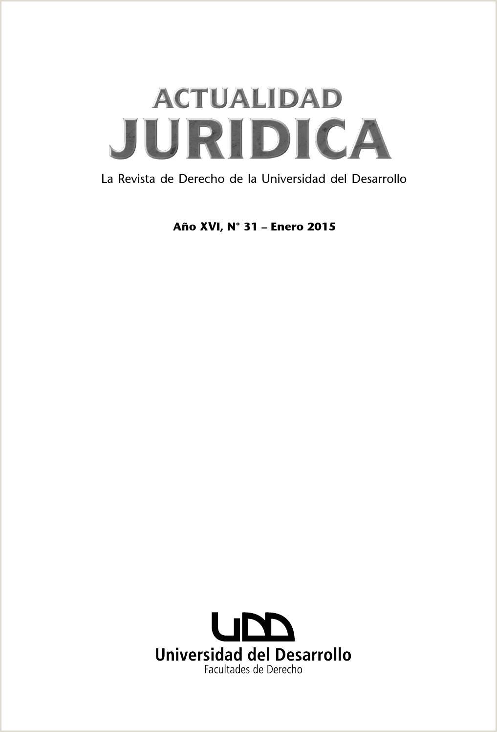 Revista Actualidad juridica nº 31 by Universidad del