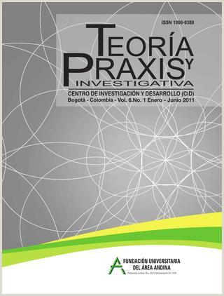 Formato Unico De Hoja De Vida Mineducacion Revista Teoria Y Praxis Investigativa by Fundacion