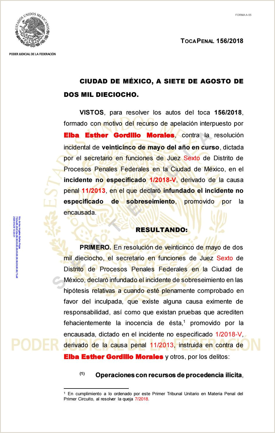 Formato Unico De Hoja De Vida Minerva Para Diligenciar Sentencia Elba Esther Gordillo Morales by La Silla Rota issuu