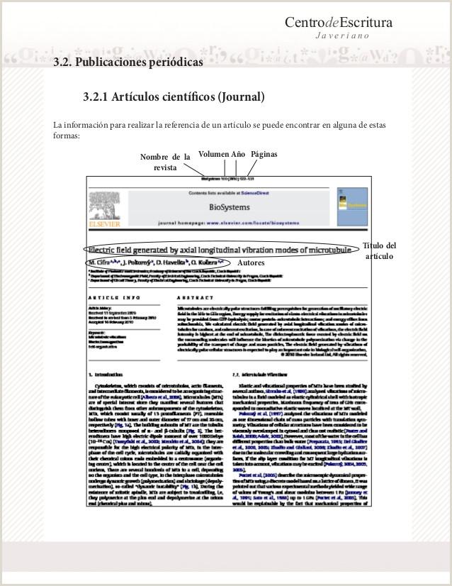 Formato Unico De Hoja De Vida normas Apa normas Apa 6a Actualizada