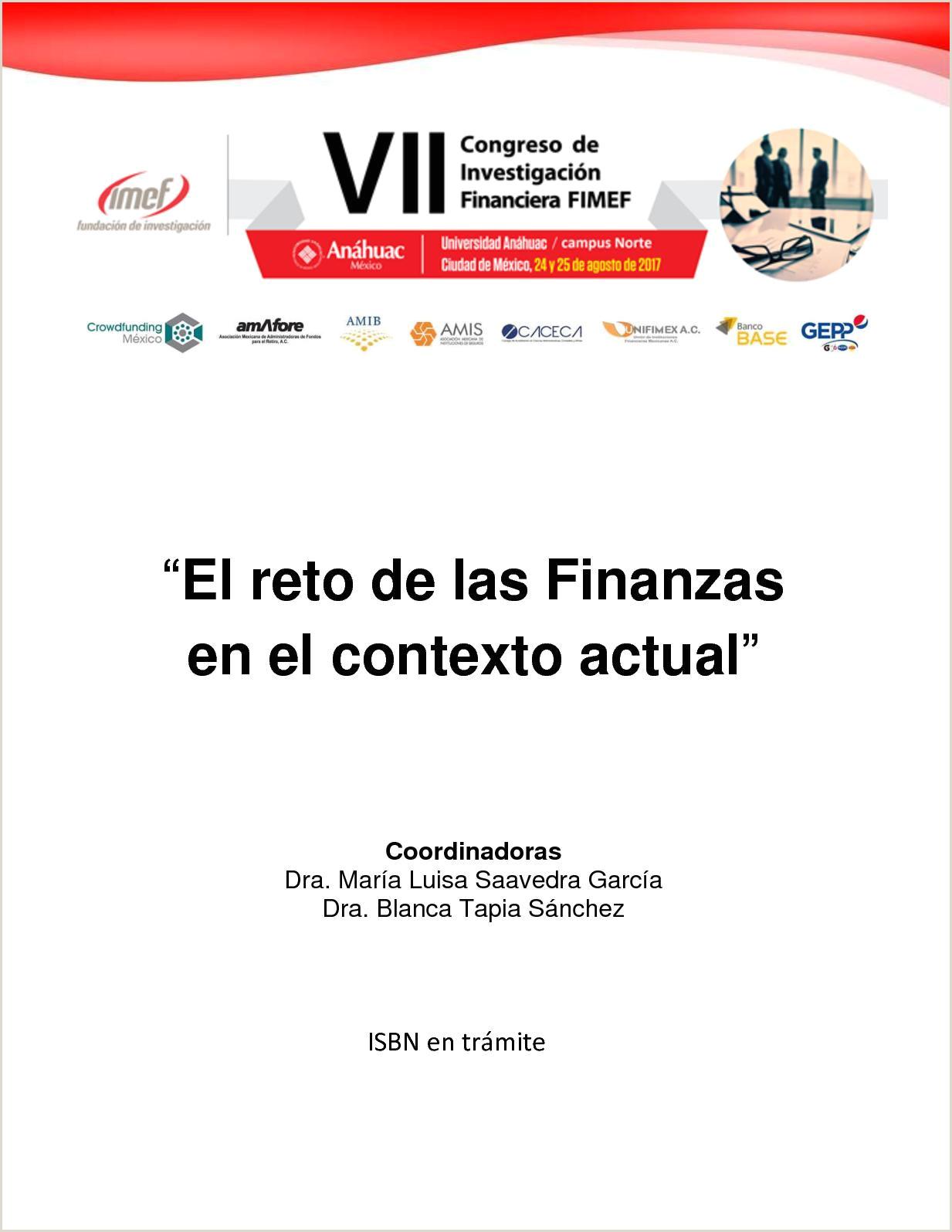 Formato único De Hoja De Vida original Calaméo El Reto De Las Finanzas En El Contexto Actual