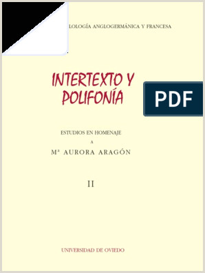 Intertexto Polifon­a Argumento