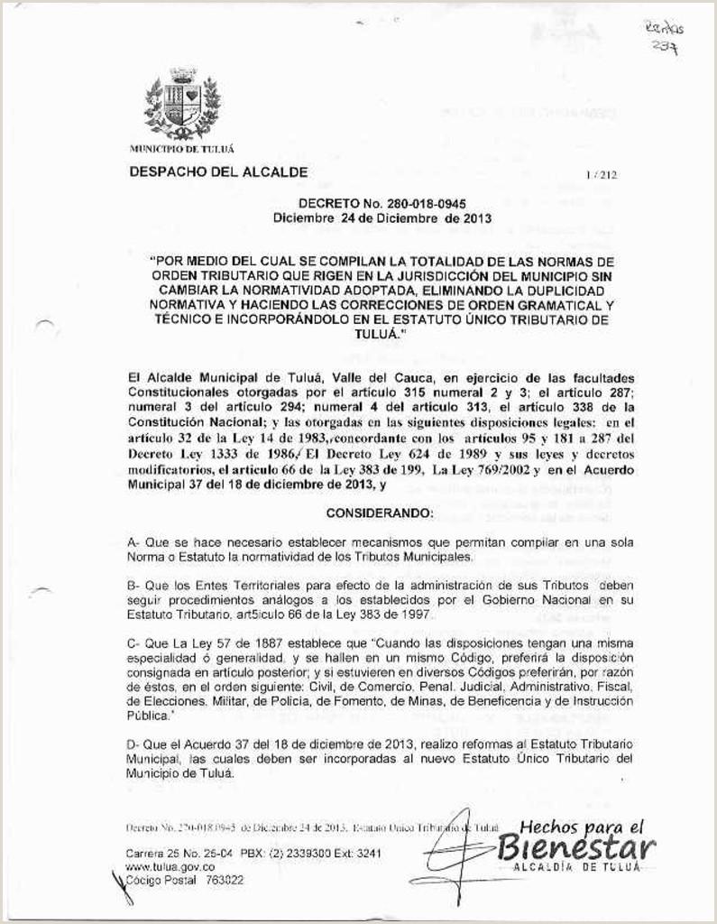 Formato Unico De Hoja De Vida Registraduria Nacional Del Estado Civil Bienesta Alcalda De Tuluá