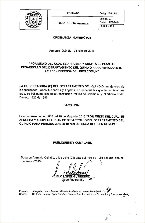 Formato Unico De Hoja De Vida Universidad Del Quindio ordenanza Plan De Desarrollo by Sandra sotelo issuu