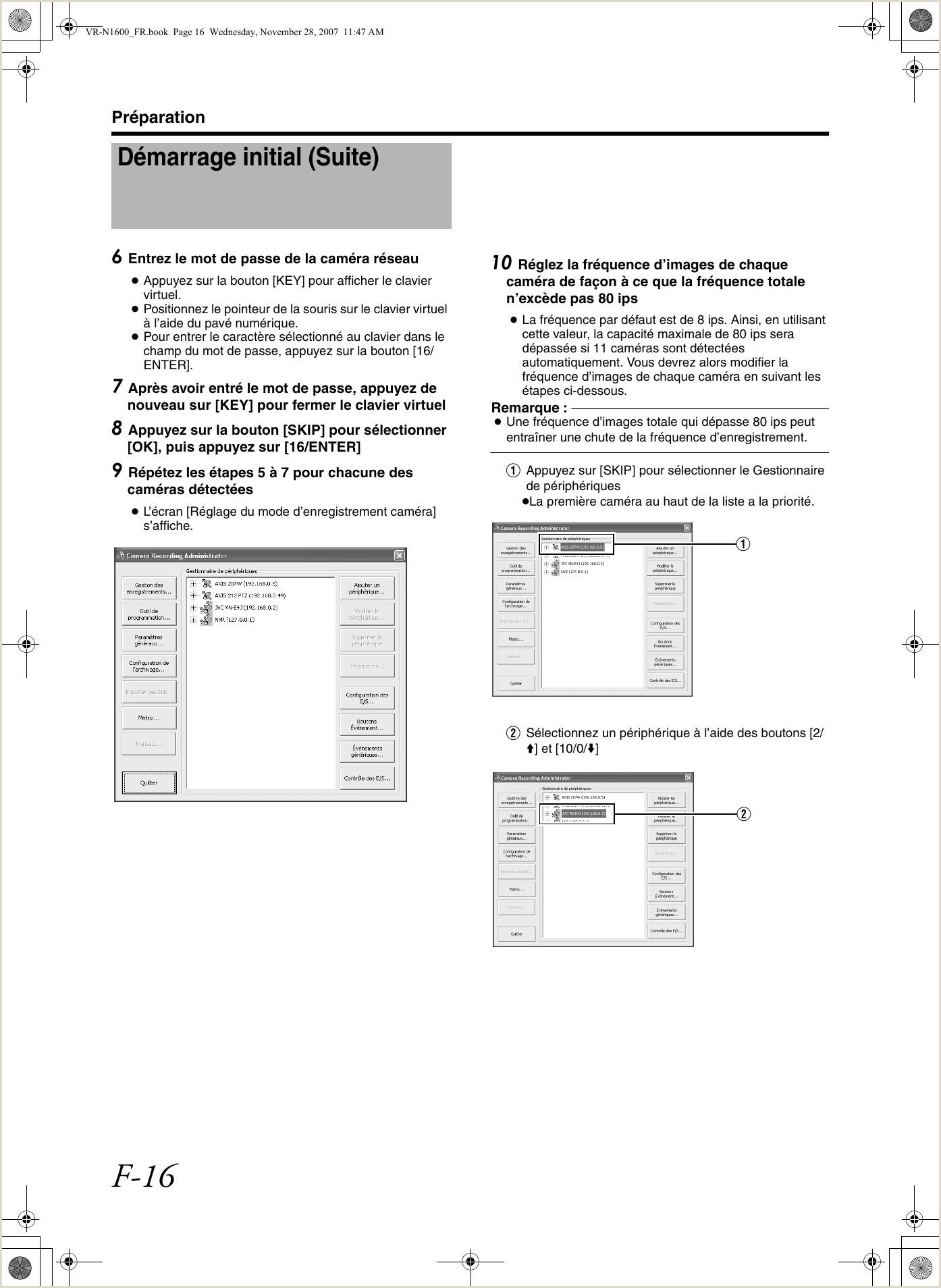 JVC VR N1600E N1600 STARTUP GUIDE User Manual N1600E N1600U