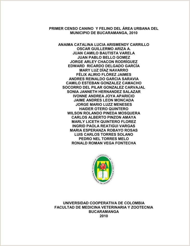 Formato Unico Hoja De Vida Alcaldia De Cali Primer Censo Canino Y Felino Del área Urbana Del